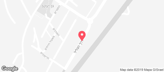 גיג'ס אנטריקוט בר - ראש פינה - מפה