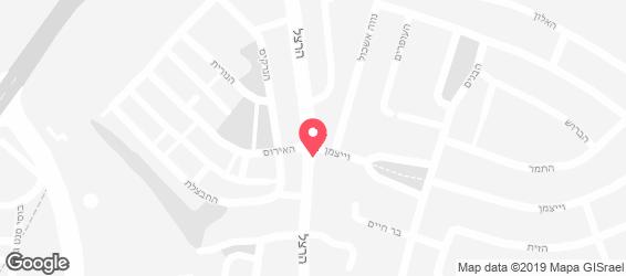 פיצה נינג'ה - מפה