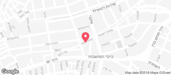 סון רון תל אביב - מפה