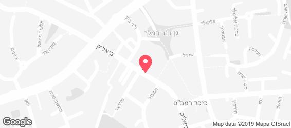 נובה Nova רמת גן - מפה