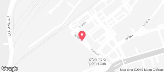 אווזי חיפה - מפה