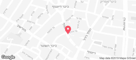 קיטו קאטו תל אביב - מפה