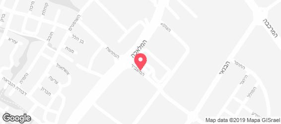bar burger - מפה