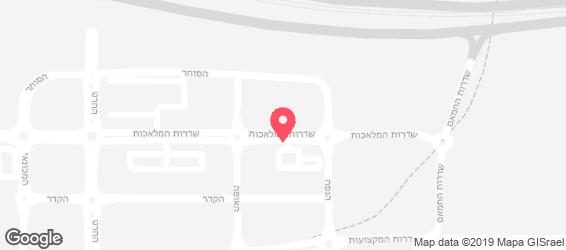 שווארמה אבו גוש - מפה