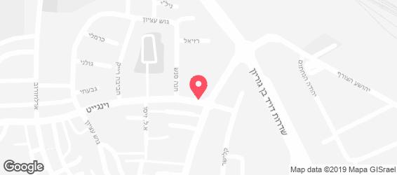 כיכר הטעמים - מפה