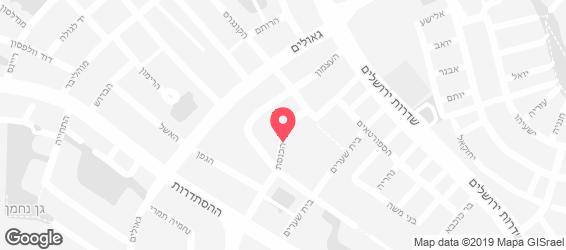 בורגר סאלון  - מפה