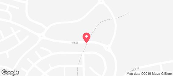 טורקיש קפה בורגר טוסט - מפה