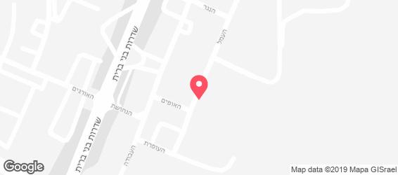 הירושלמי - מפה