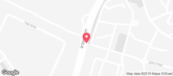 בורגר סאלון ראשון לציון - מפה
