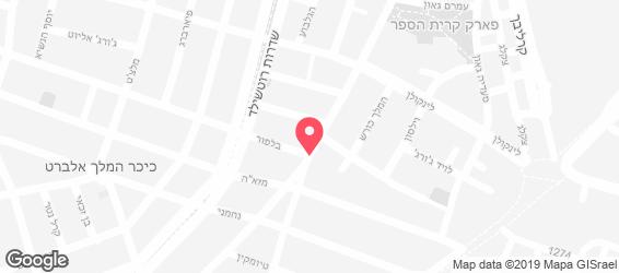 מסרקיוי מסעדה אתיופית - מפה