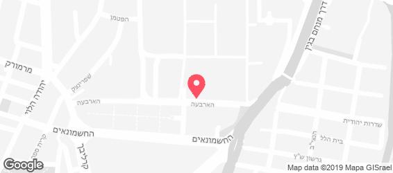 מינה טומיי - מפה
