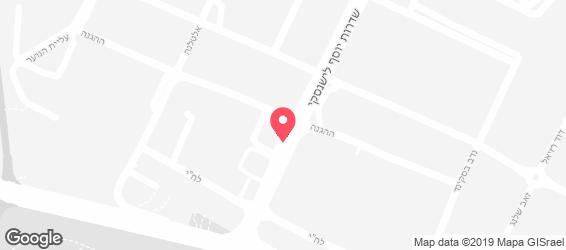 מסעדת ביירות - מפה
