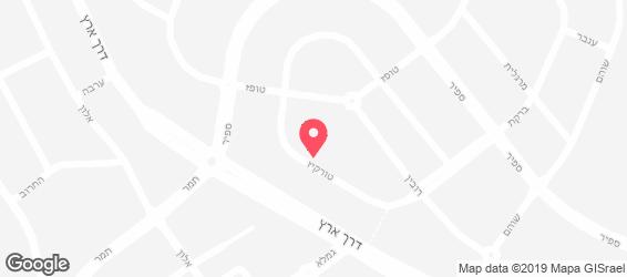 שלהבתיה - מפה
