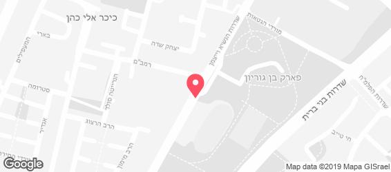 SushiXL אשדוד - מפה