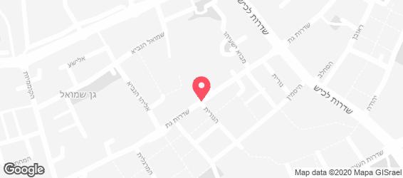 הקוסקוס של רותם - מפה