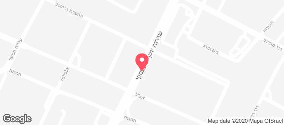 חומוסיית רמלה - מפה