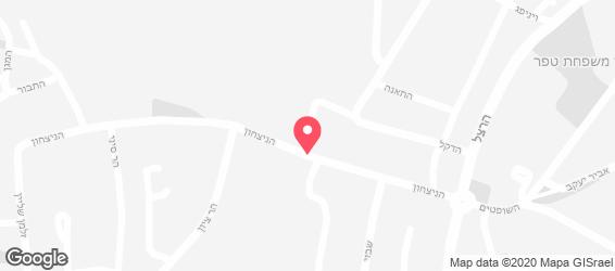 TIRAMISU - מפה