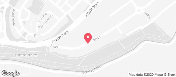 ג'ויה איטליאנה תל אביב - מפה