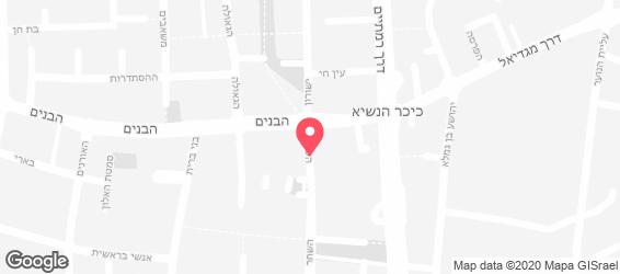 גולדה הוד השרון - מפה