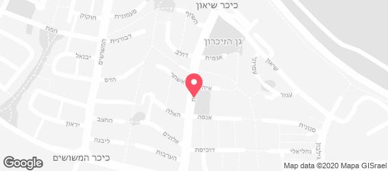 גריל burger - מפה