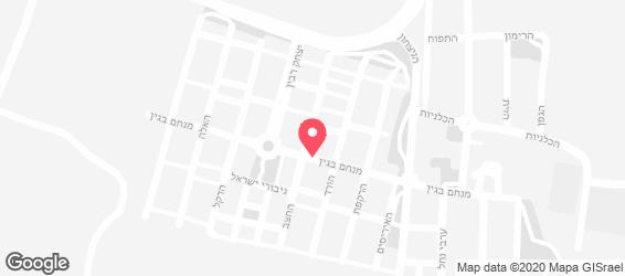 ג'חנון מלבי סטאר - מפה