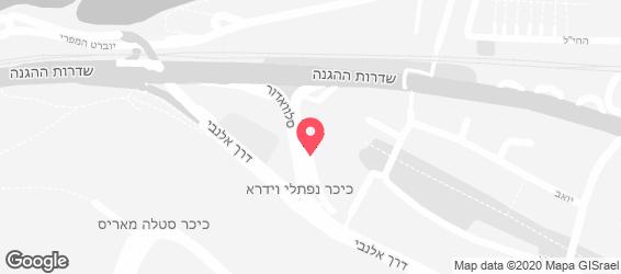 ערוסה בעיר - arusa haifa - מפה
