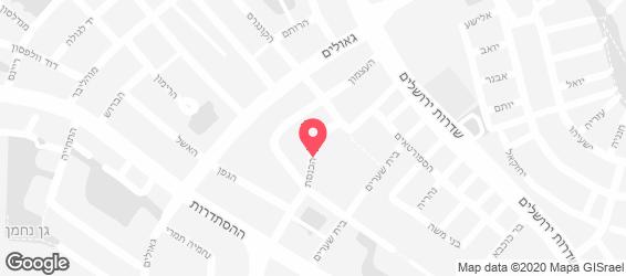 פדידה בורגר - מפה