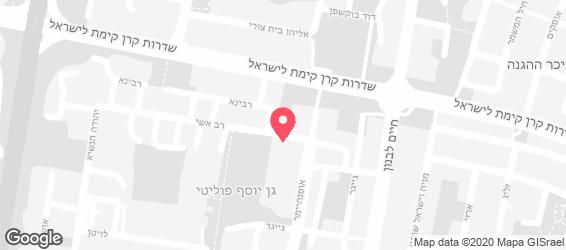 רמת אביב mimi - מפה