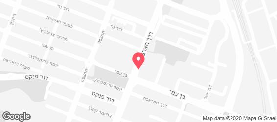 סנדוויץ' בר סמי הגדול - מפה