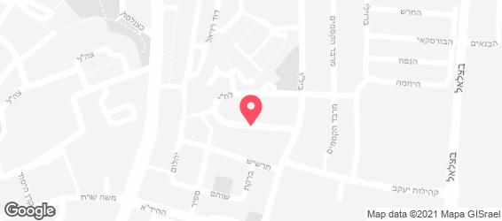 כנאפה מרקש - מפה