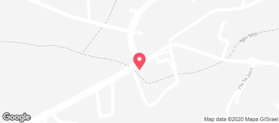 המטבח הדרוזי-מסעדה אותנטית - מפה