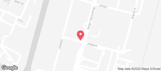 ארט סטריט Art Street - מפה