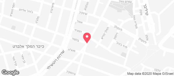 המסעדה של גיטה - מפה
