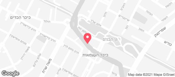 בלאג'ו פאב מסעדה - מפה