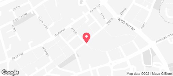 LA PIZZA - מפה