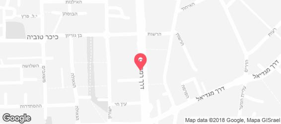 קונדיטורית וילהיים - מפה