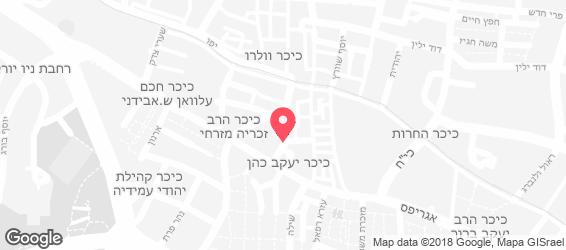 מסעדת יהודית - מפה