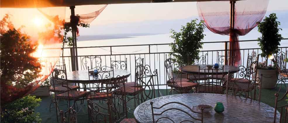 נוף במסעדת ביאנקיני (צילום: איתמר גרינברג)