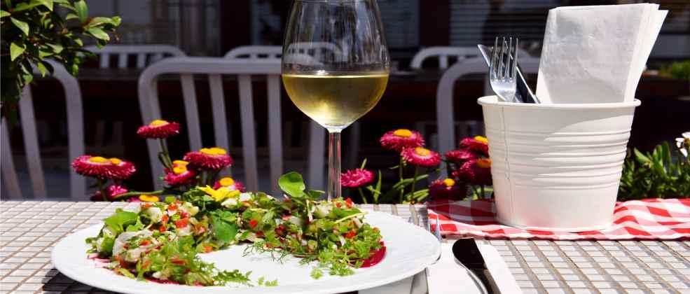 מנה במסעדת וינו דל מאר (צילום: באדיבות המקום)