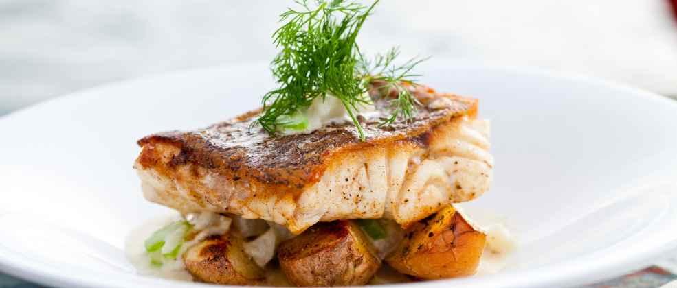 מנת דג של מסעדת אלמרסא (צילום: באדיבות המקום)
