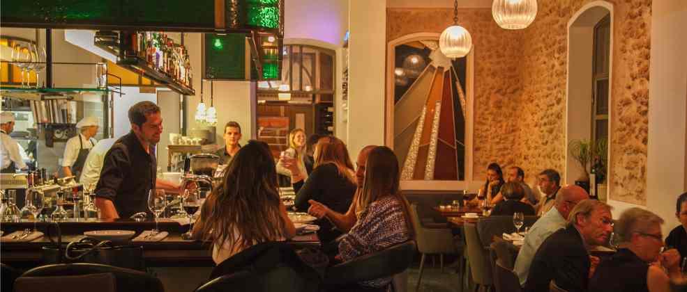 מסעדת פופינה בנווה צדק (צילום: חיים יוסף)