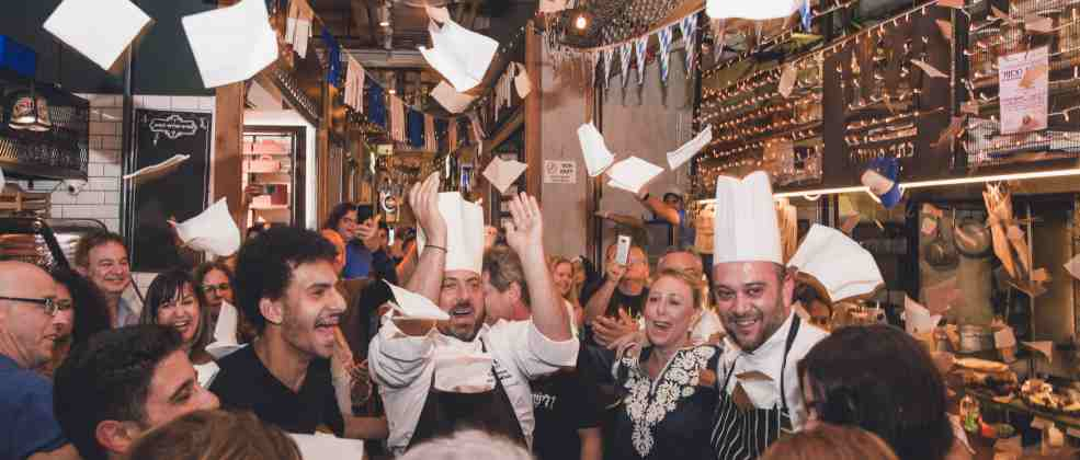 חגיגות יוון בשוק צפון (צילום: נופר לפיד)