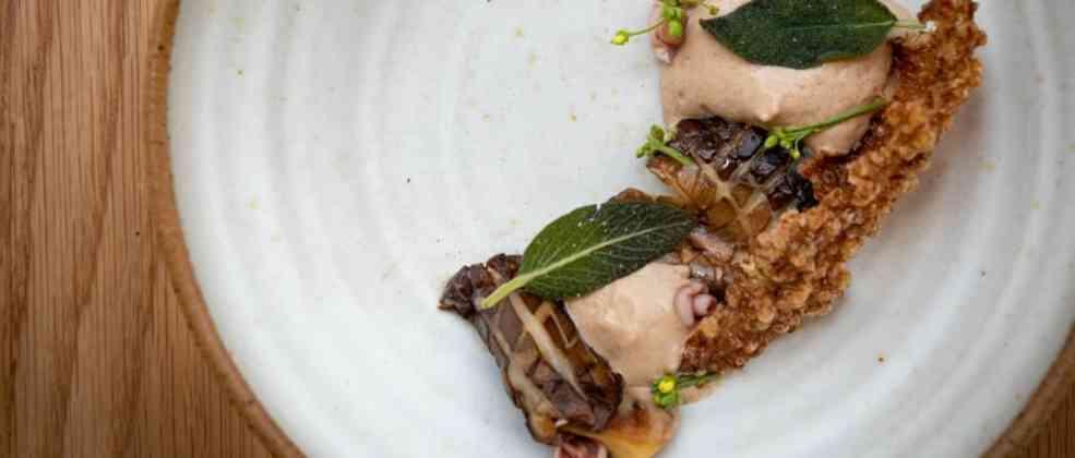 """ארינג'י פטריות של מסעדת OPA (צילום: באדיבות יח""""צ)"""