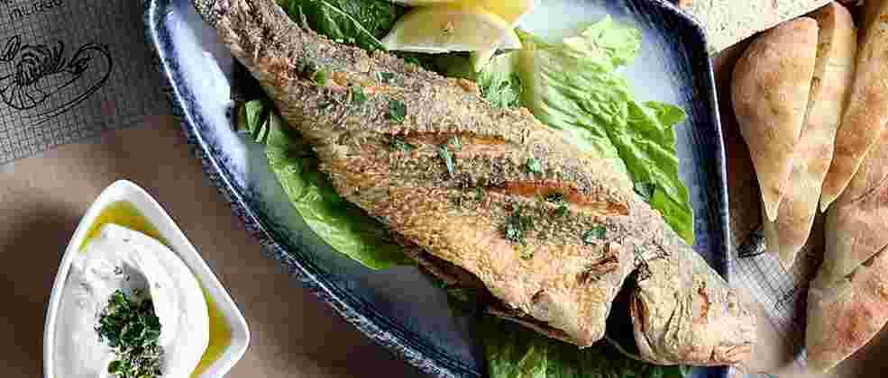דג שלם במסעדת שצ'ופק (צילום: אפיק גבאי)
